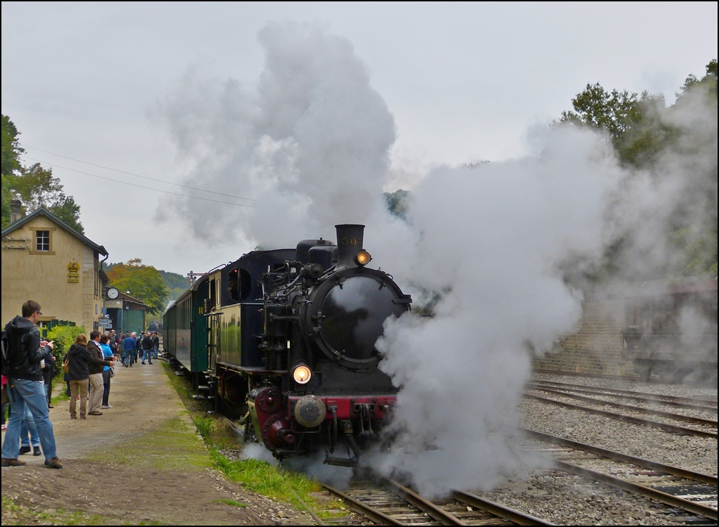 . A lot of steam in Fond de Gras on September 23rd, 2012.