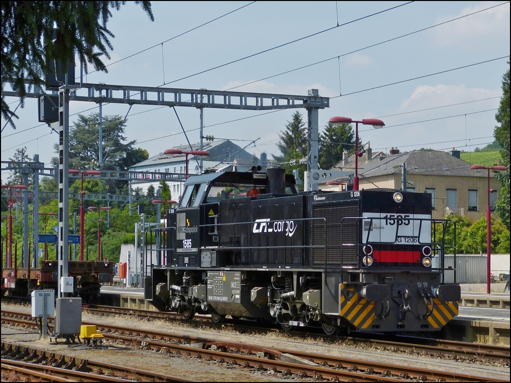 . CFL Cargo 1585 photographed in Wasserbillig on July 16th, 2013.