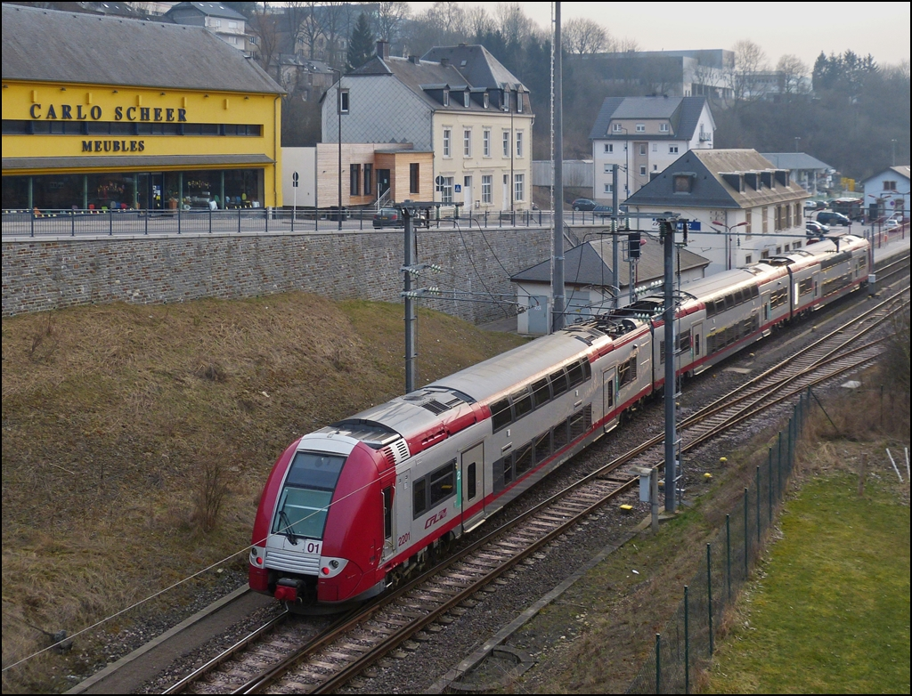 . The RB 3217 is arriving in Wiltz on April 4th, 2013.