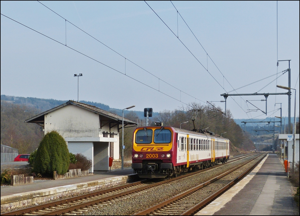 . Z 2003 is arriving in Wilwerwiltz on April 4th, 2013.