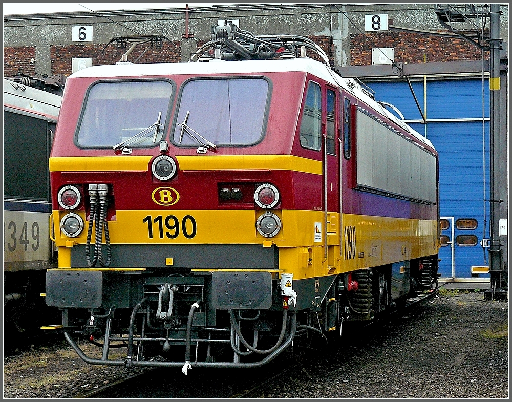 1190 in Benelux colours was shown during an open day in Kinkempois on May 18th, 2008.