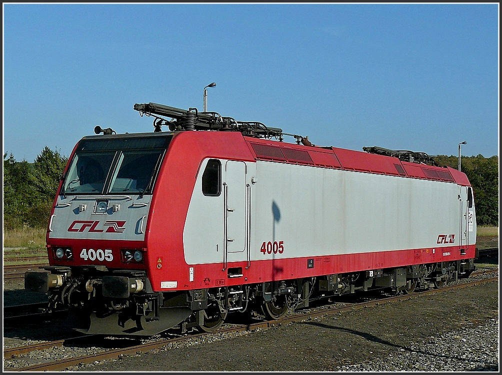 4005 was shown in Mariembourg on September 28th, 2009.