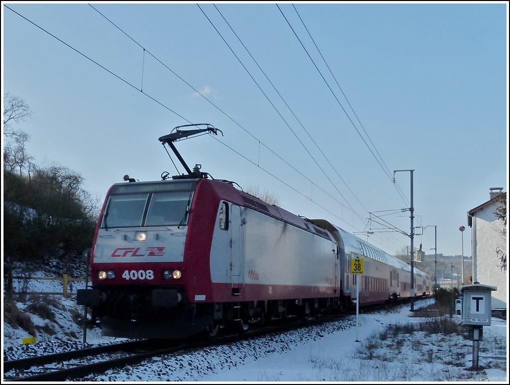 4008 photographed in Lellingen on February 10th, 2012.