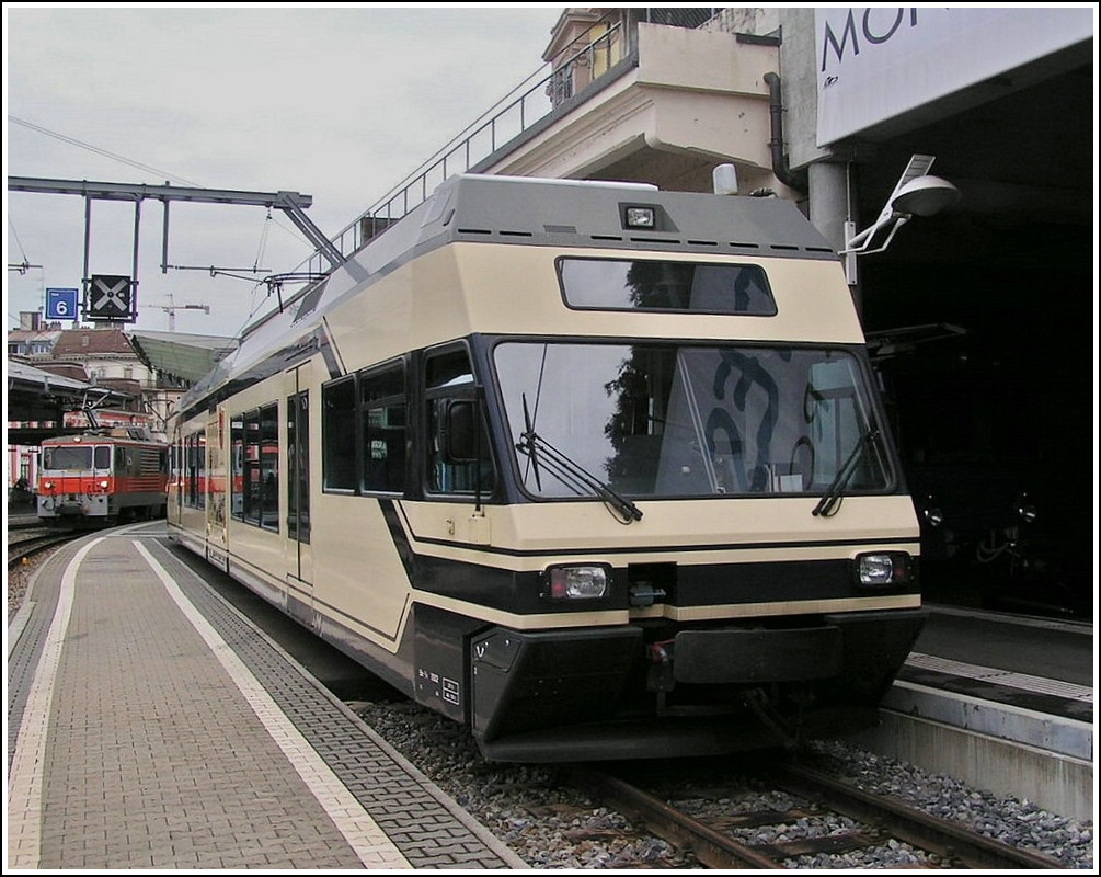 A CEV GTW pictured in Montreux on August 3rd, 2007.