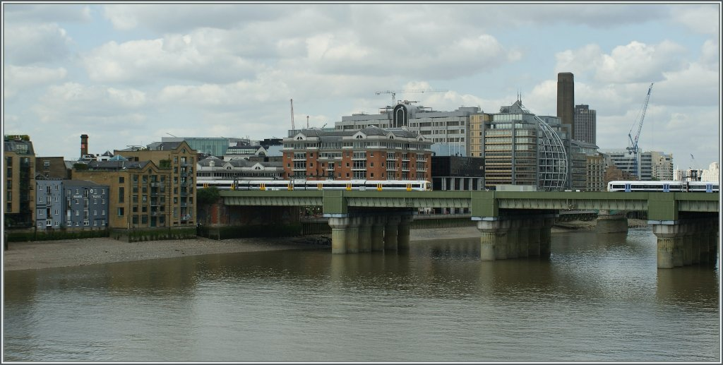 A view over the Thames. 19.05.2011