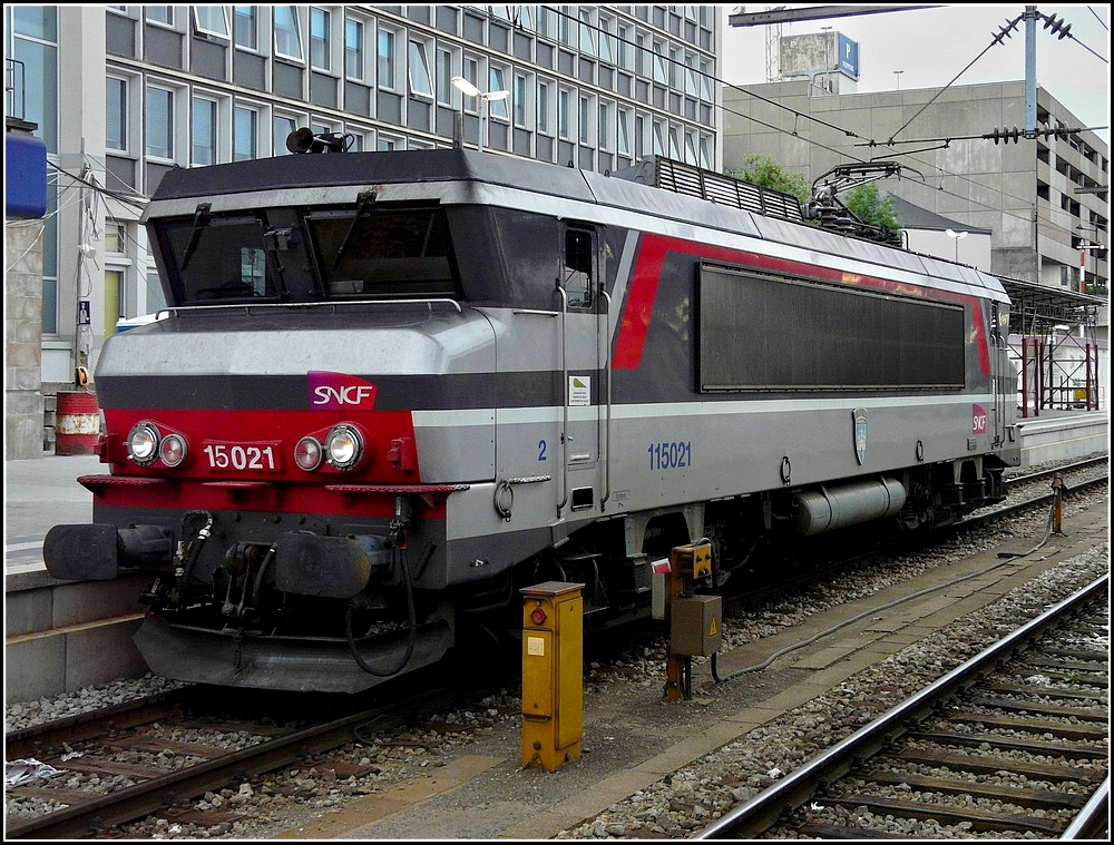 BB 15021 pictured at Luxembourg City on June 19th, 2010.