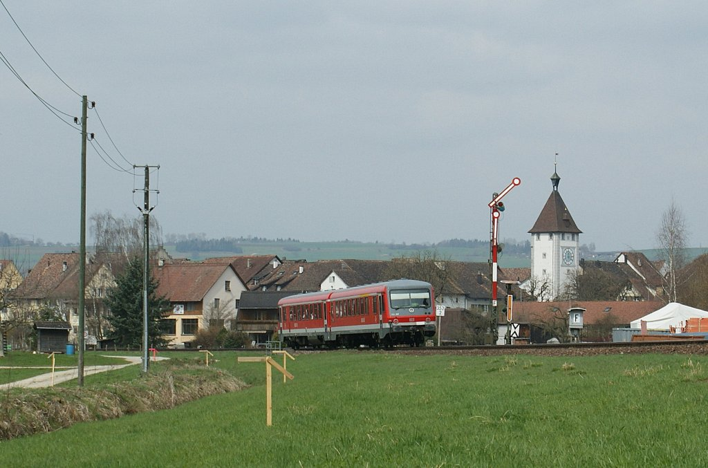 DB VT 928 by Neunkirch. 