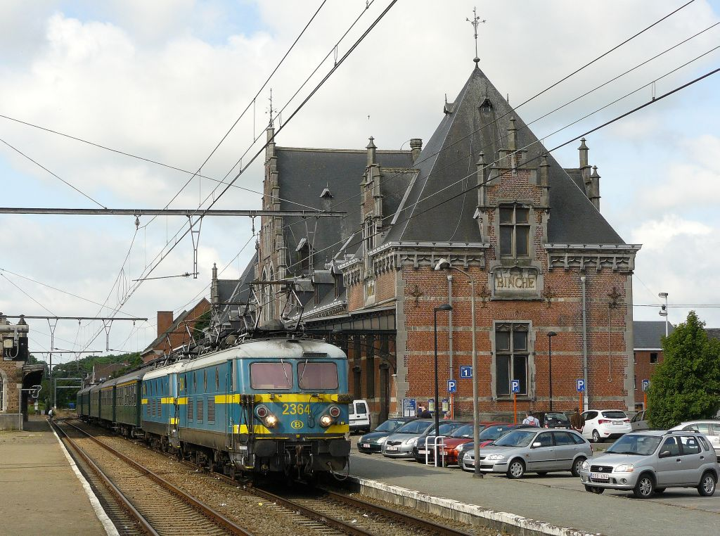 Farewell ride type 23. 2364 and 2365 in Binche 23-06-2012.