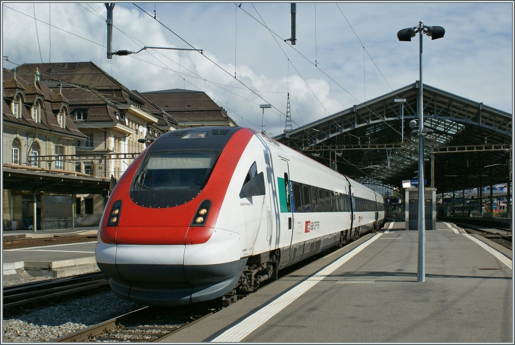 ICN in Lausanne. 