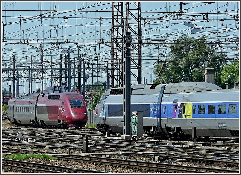 Meeting of PBKA Thalys and TGV Atlantique/Réseau in Bruxelles Midi on May 30th, 2009.