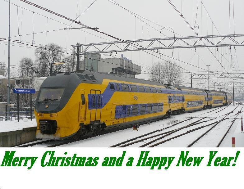 MERRY CHRISTMAS AND A HEALTHY HAPPY NEW YEAR to all the users and viewers on Rail-Pictures.com.