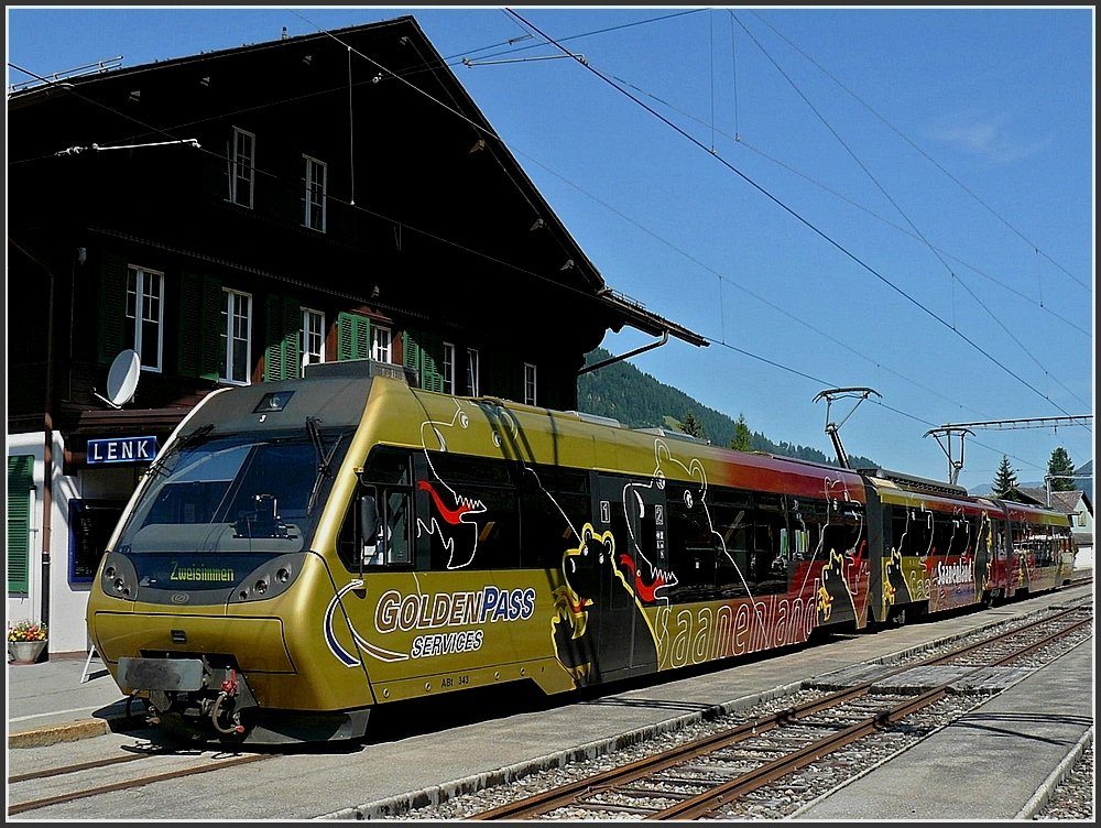 Lenk im Simmental Switzerland  City pictures : MOB ABt 343 photographed at Lenk im Simmental on July 31st, 2008 ...