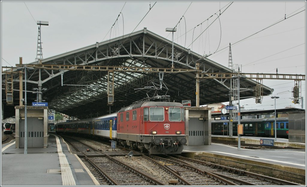 Re 4/4 II - Festival in Lausanne :