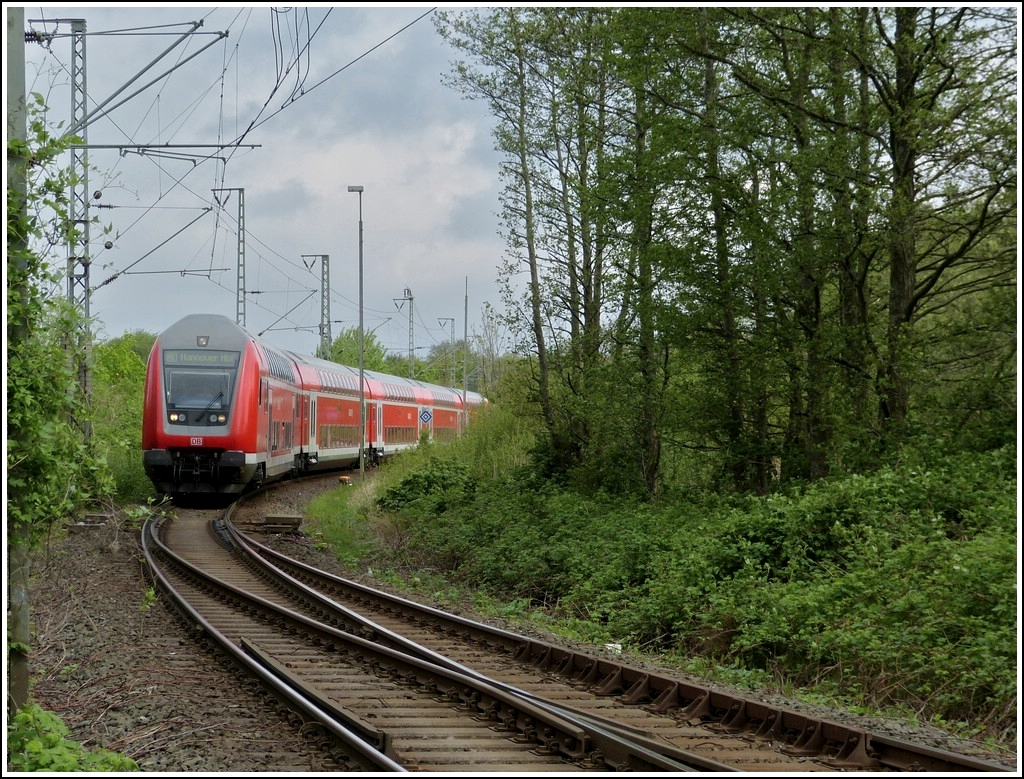 RE to Hannover is arriving in Norden on May 11th, 2012.