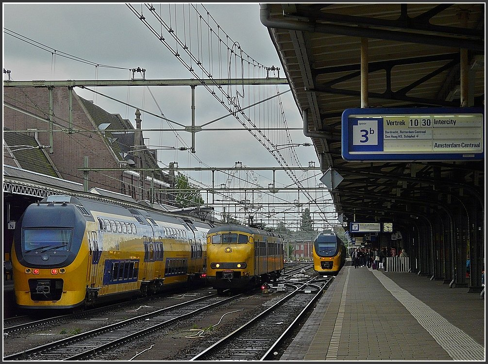 Rush hour at the station of Roosendaal on September 5th, 2009.