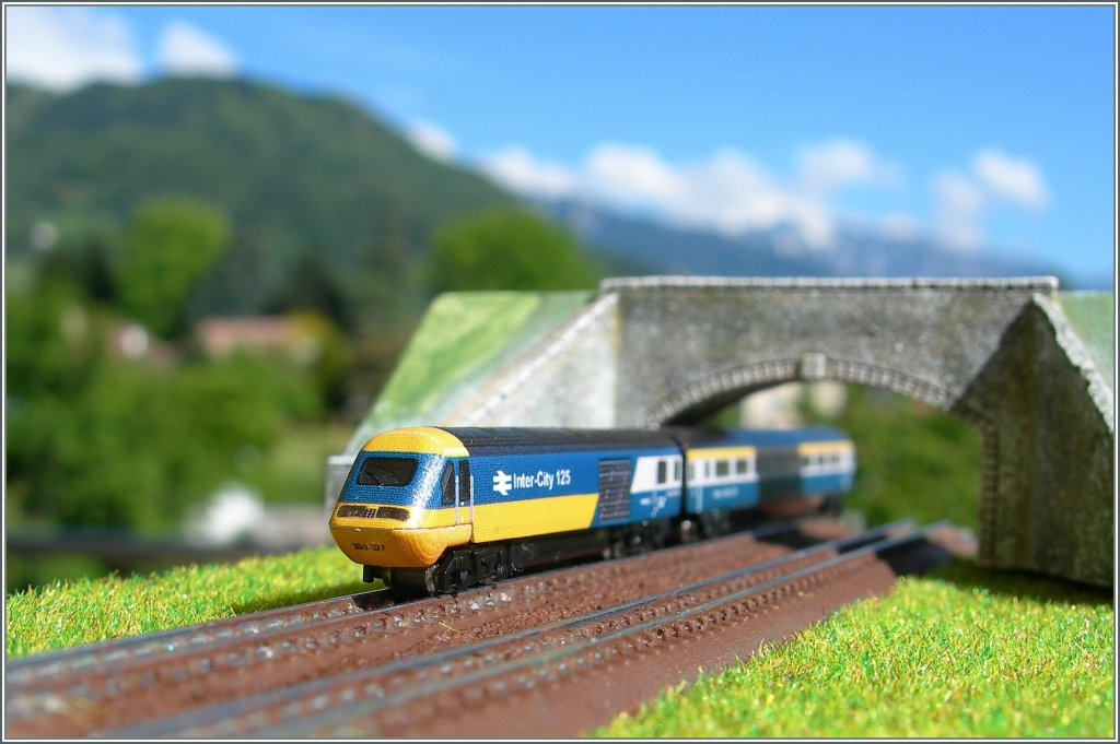 T Gauge BR HST by a new tunnel.
