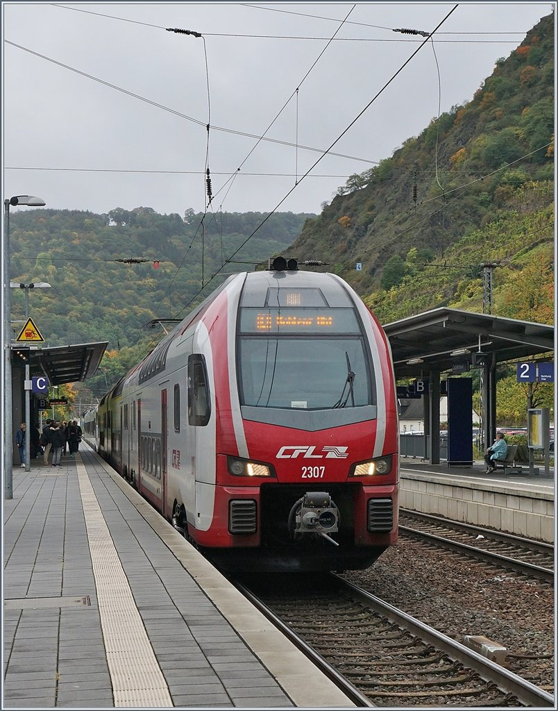 The CFL 2307 in Cochem.