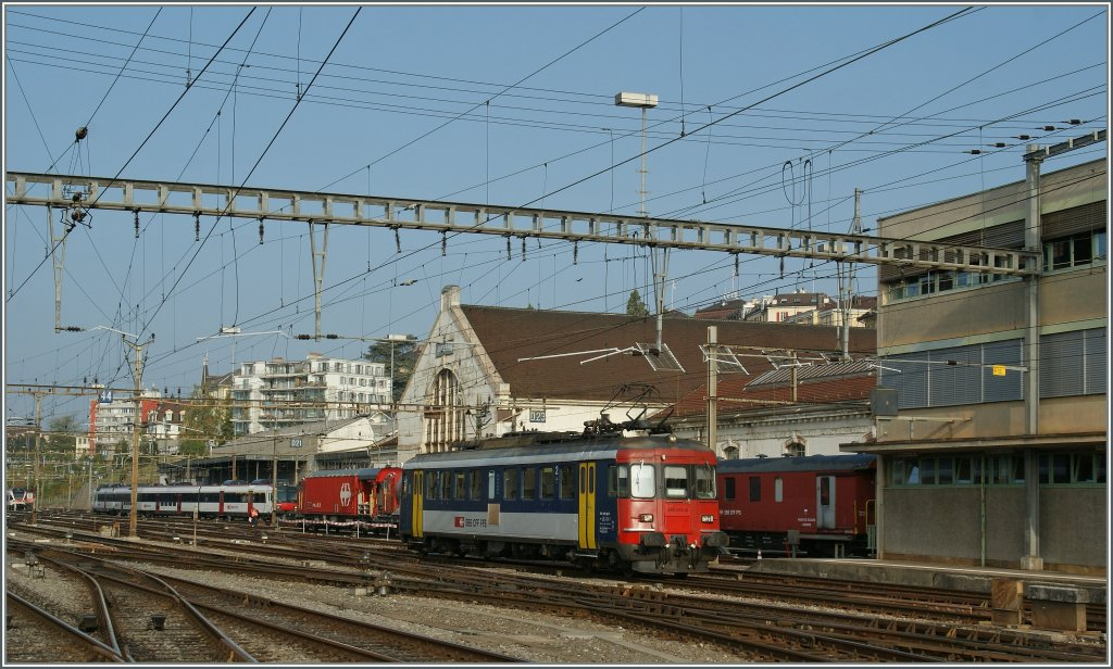 The SBB RBe 540 013-0 in Lausanne.