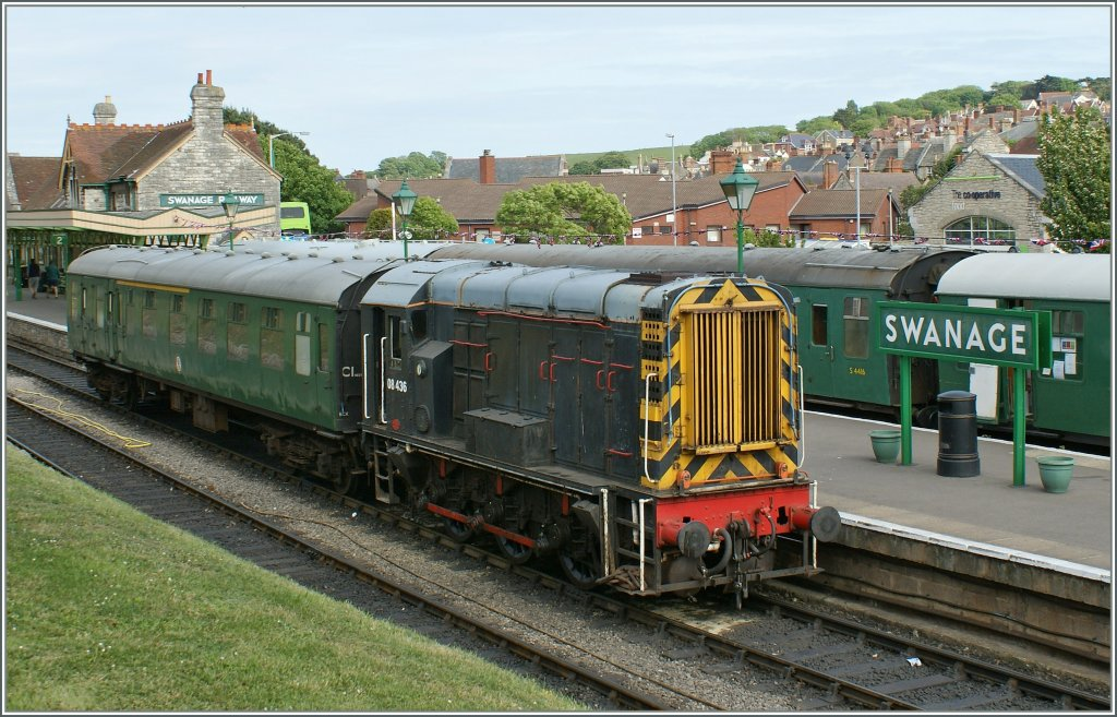 The Swanage Railway 08436 in Swanage. 