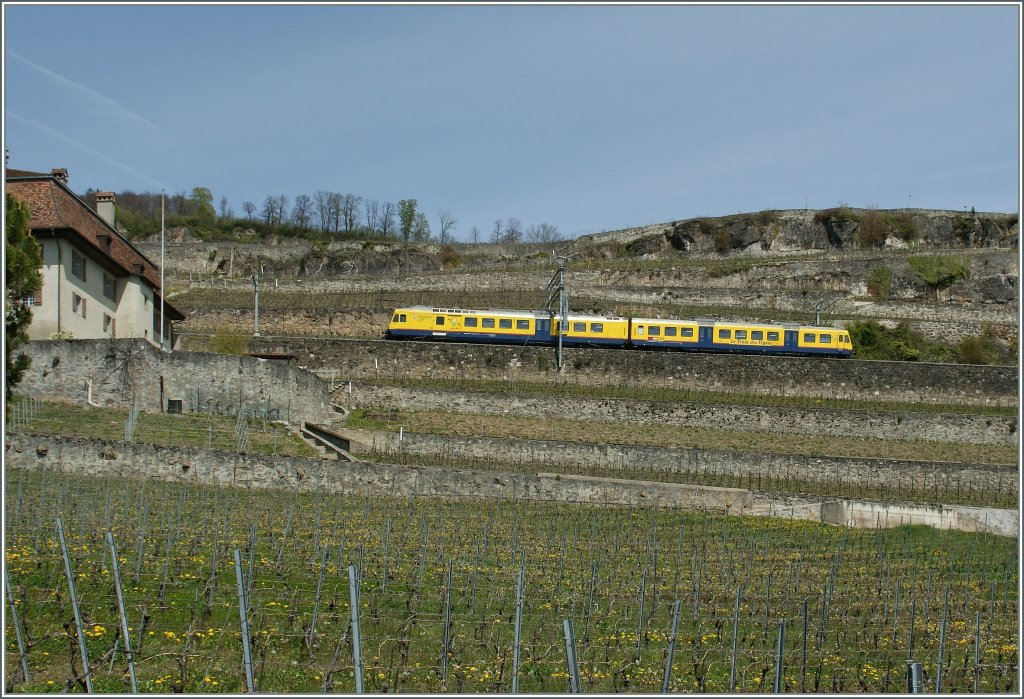 The Train des Vignes by Chexbres. 