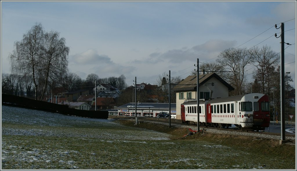 TPF local train by Remaufens. 