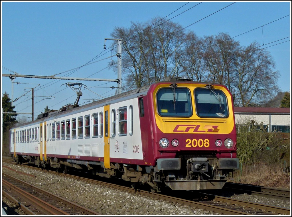 Z 2008 is running through Schieren on March 1st, 2012.