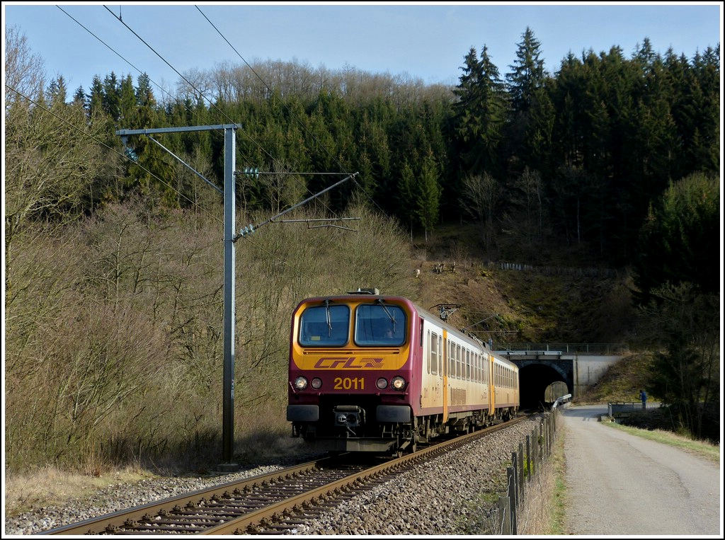 Z 2011 is running through Lelingen on March 27th, 2012.