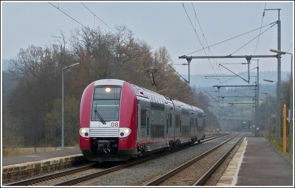 Z 2208 is arriving in Wilwerwiltz on November 8th, 2011.