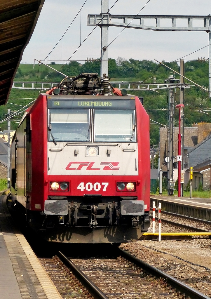 . 4007 is arriving in Wasserbillig on April 26th, 2014.