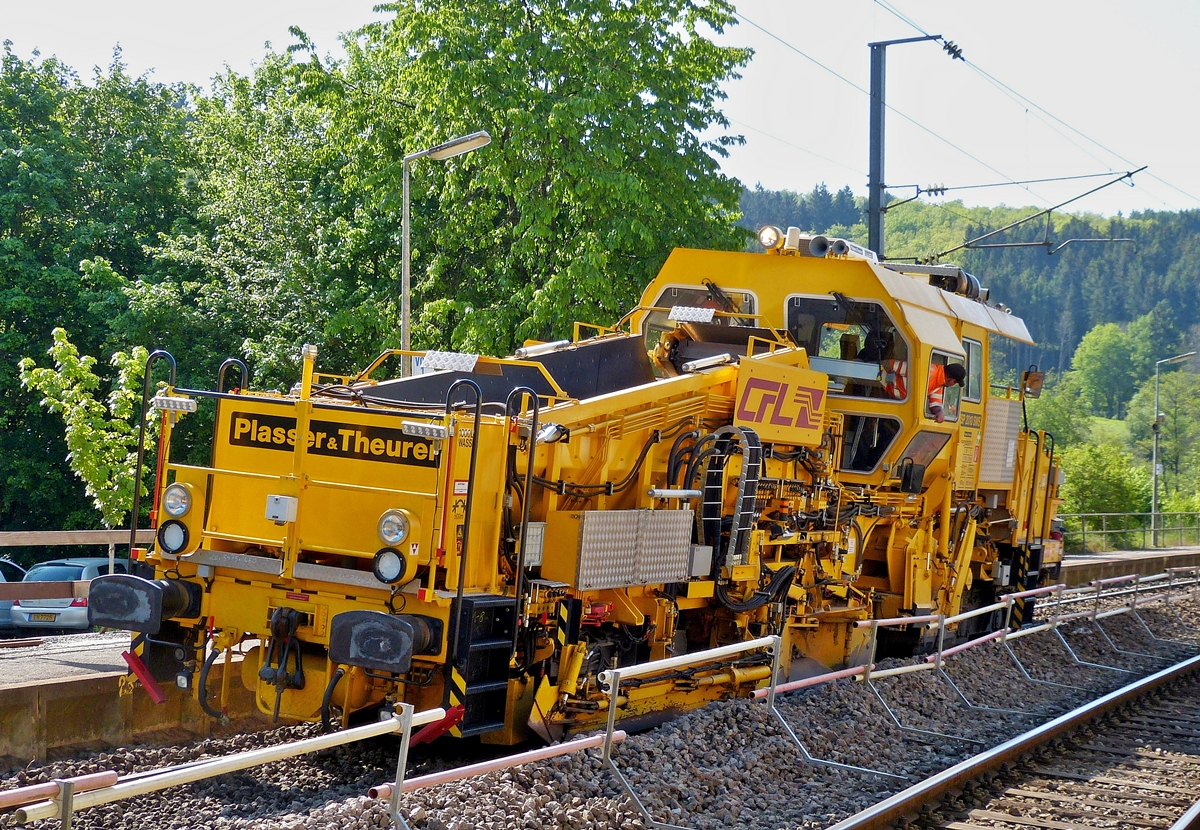 . CFL 791 (Plasser & Theurer Ballast Distributing and Profiling Machine NSP 2010 SWS N° 99829225791-7) pictured in Drauffelt on May 18th, 2014.