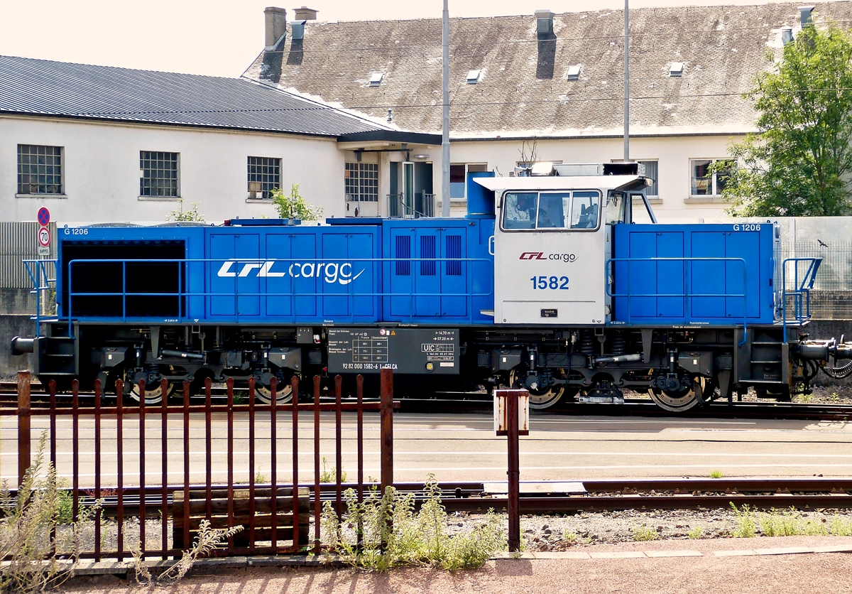 . CFL Cargo 1582 taken in Luxembourg City on July 15th, 2014.