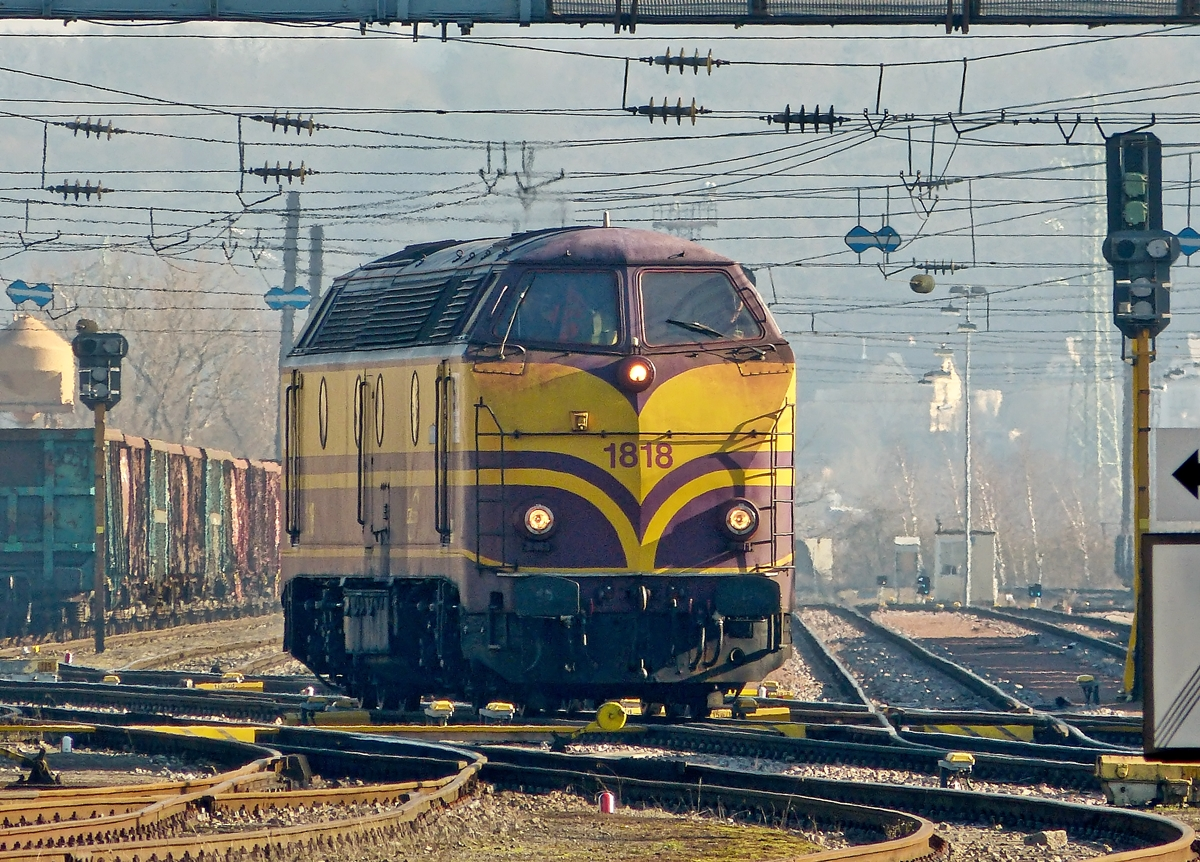 . CFL Cargo 1818 pictured in Esch/Belval on January 31st, 2014.