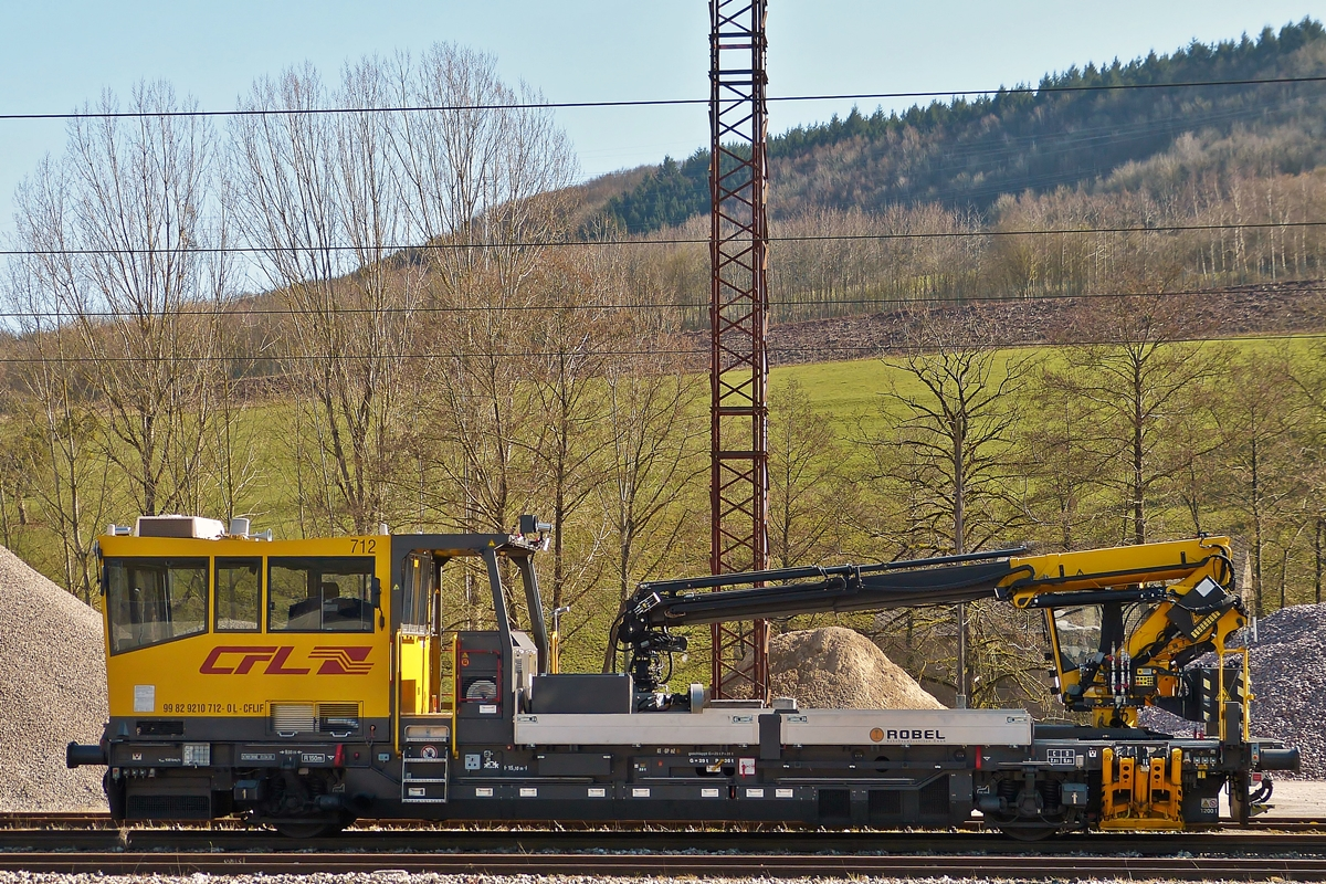 . CFL ROBEL IIF 712 pictured in Ettelbrück on March 12th, 2015.