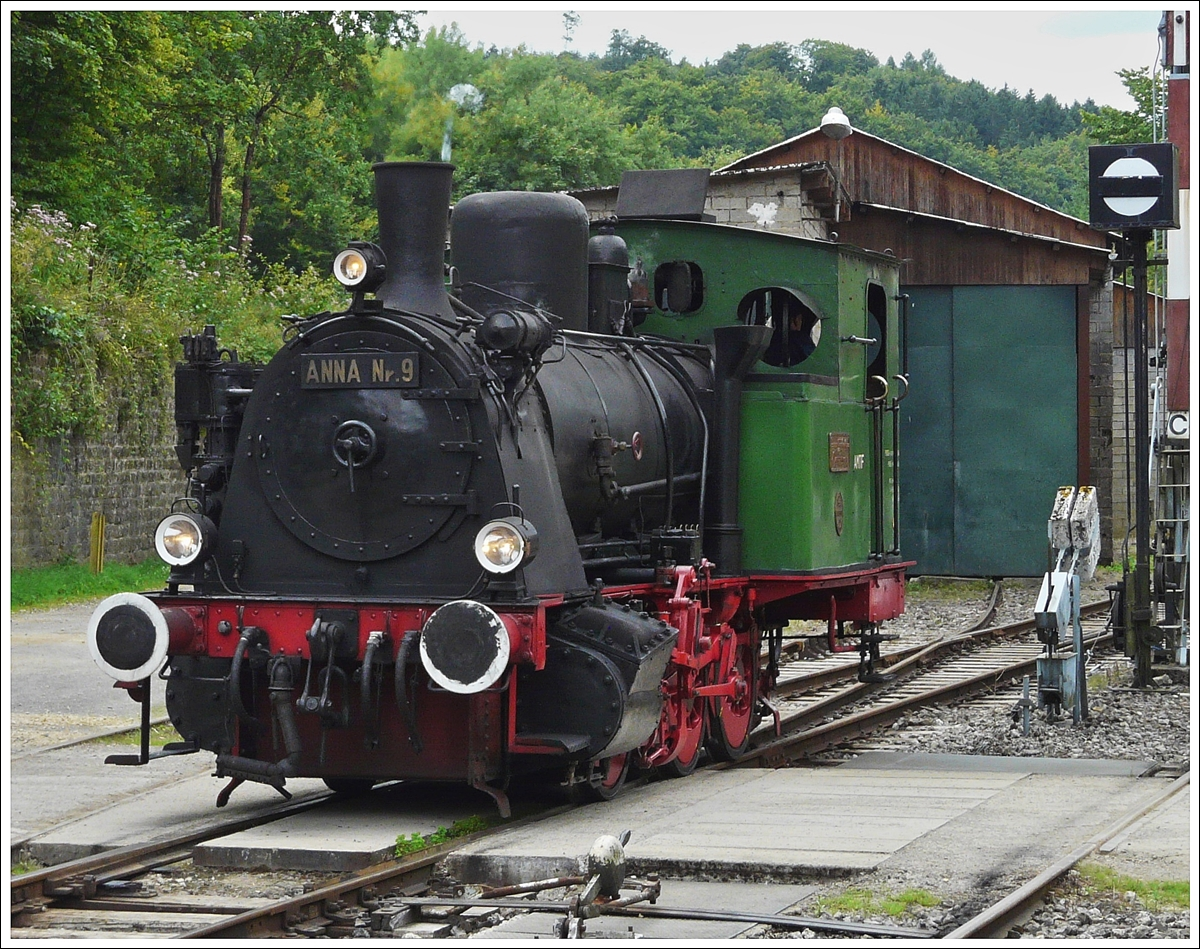 . The AMTF steamer Anna N° 9 photographed in Fond de Gras on August 17th, 2008.