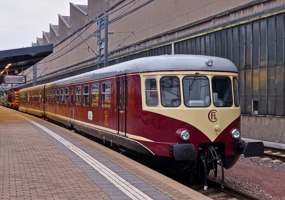 . The heritage Westwaggon 208/218 pictured in Luxembourg City on October 5th, 2014.