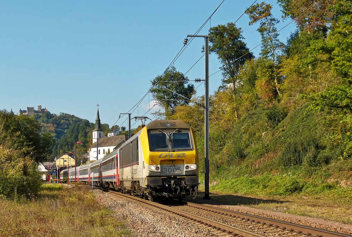 . The IR 115 Liers - Luxembourg City is running through Michelau on October 3rd, 2014.