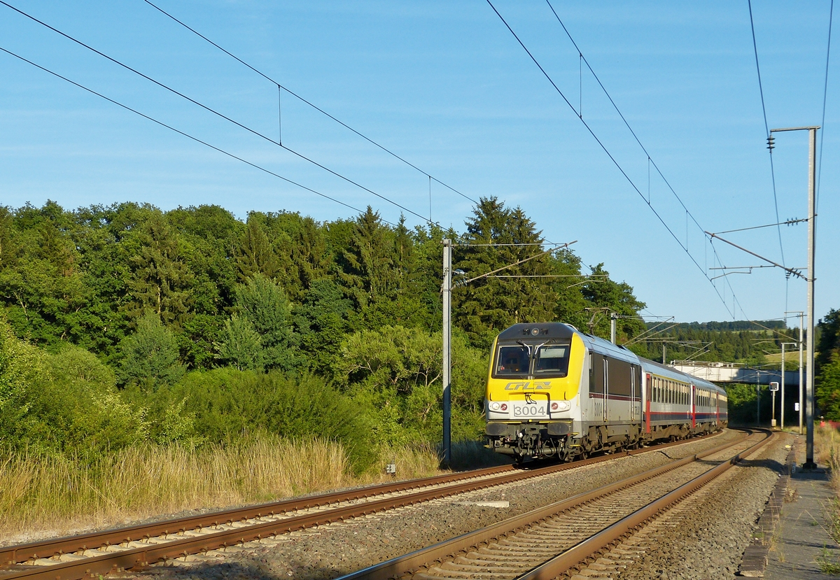 . The IR 120 Luxembourg City - Liers is running through Wilwerwiltz on July 3rd, 2014.
