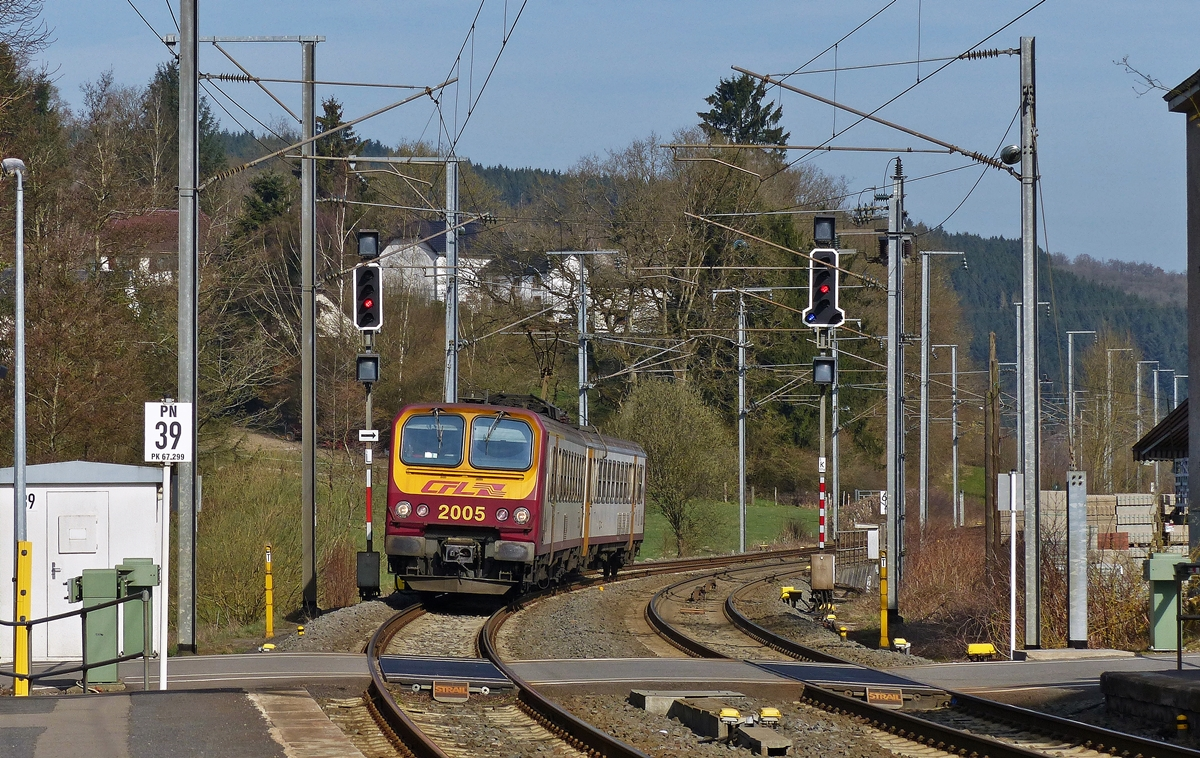 . Z 2005 is arriving in Wilwerwiltz on April 10th, 2015.