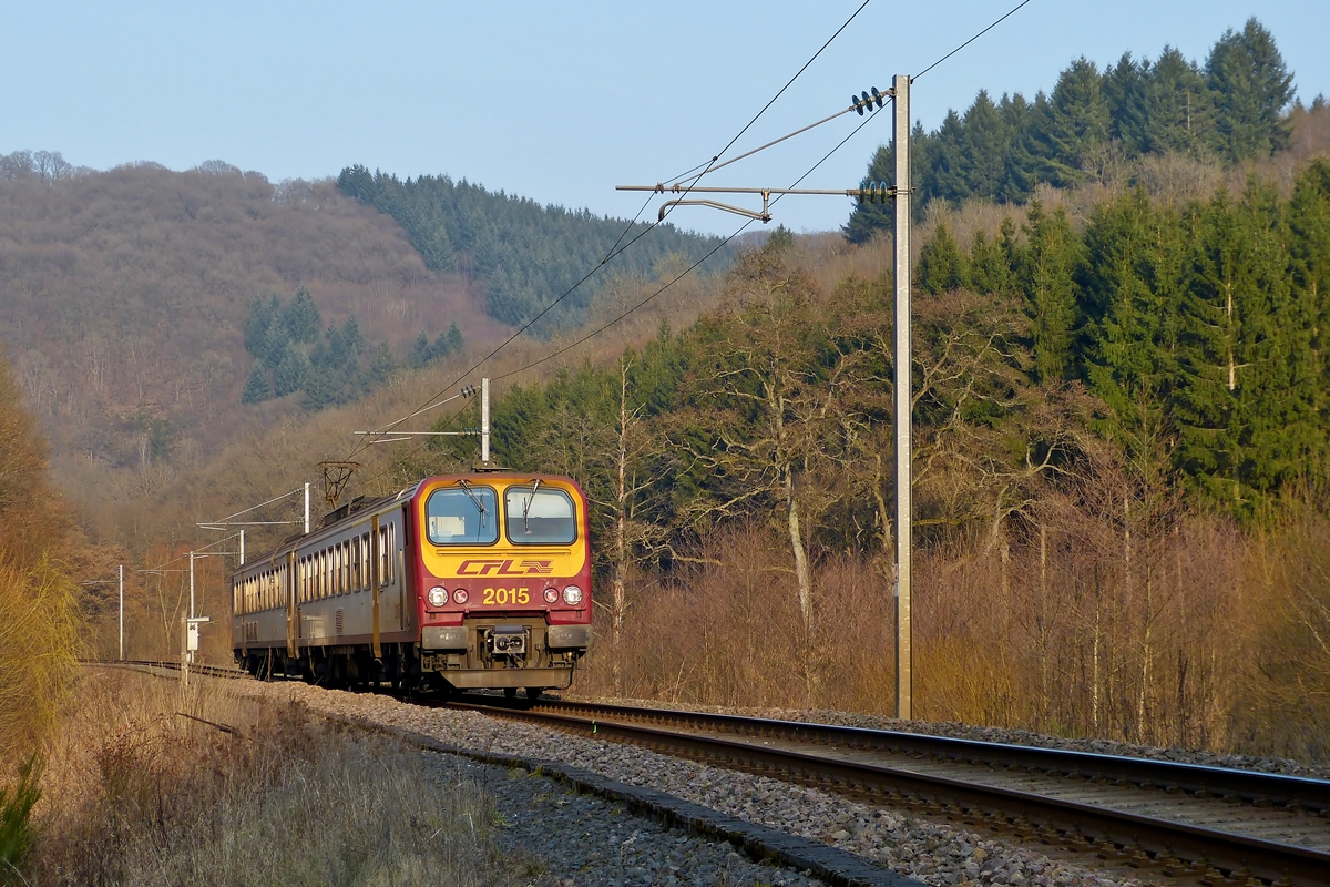 . Z 2015 is running between Merkholtz and Wiltz on March 14th, 2014.