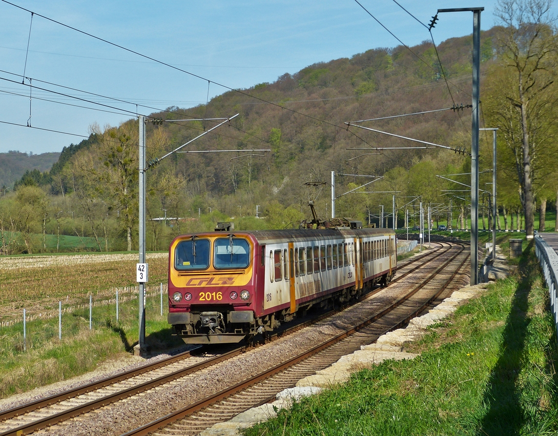 . Z 2016 is running between Colmar-Berg and Cruchten on April 21st, 2015.