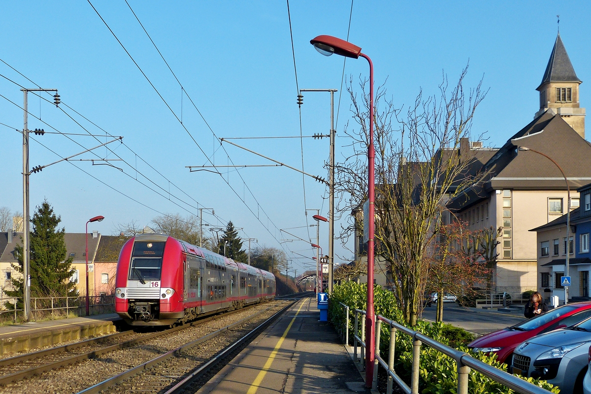 . Z 2216 is arriving in Schifflange on January 31st, 2014.