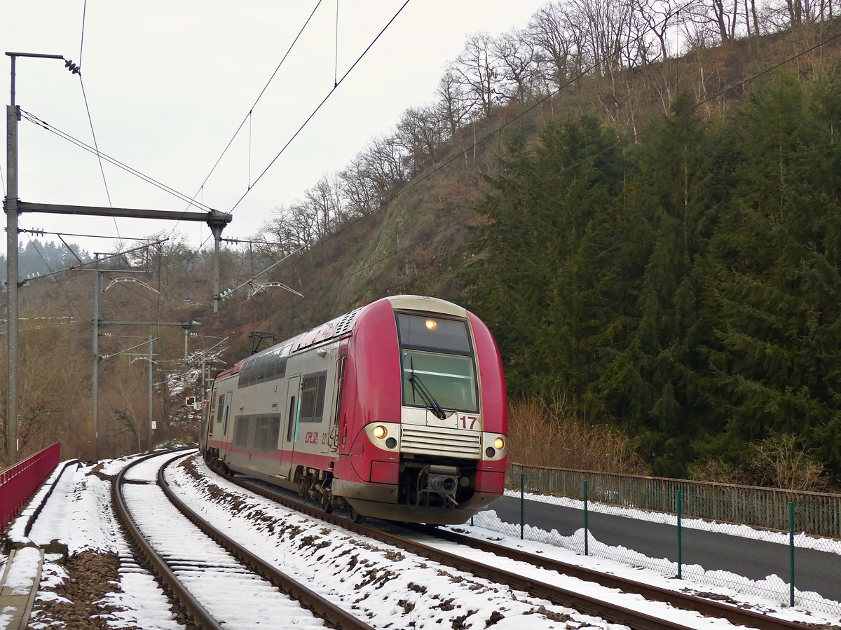 . Z 2217 is arriving in Kautenbach on January 6th, 2015.