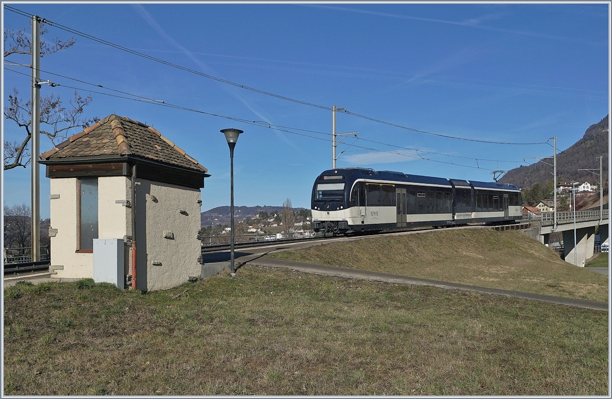 A CEV MVR ABeh 2/6 is arriving at Chatelard VD.