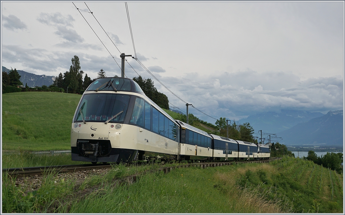A MOB Golden Pass Panoramic Service with the  new  Ast 151 by Planchamp.