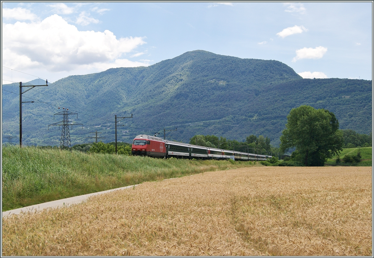 A Re 460 wiht an IR by Riazzino.