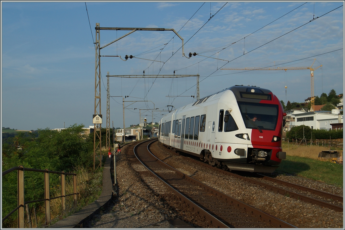A TPF RE from Fribourg to Bulle by Neruz.