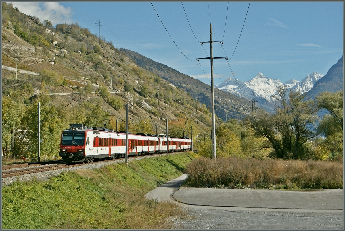 A  Walliser -Domino near Raron on the way to Sion.