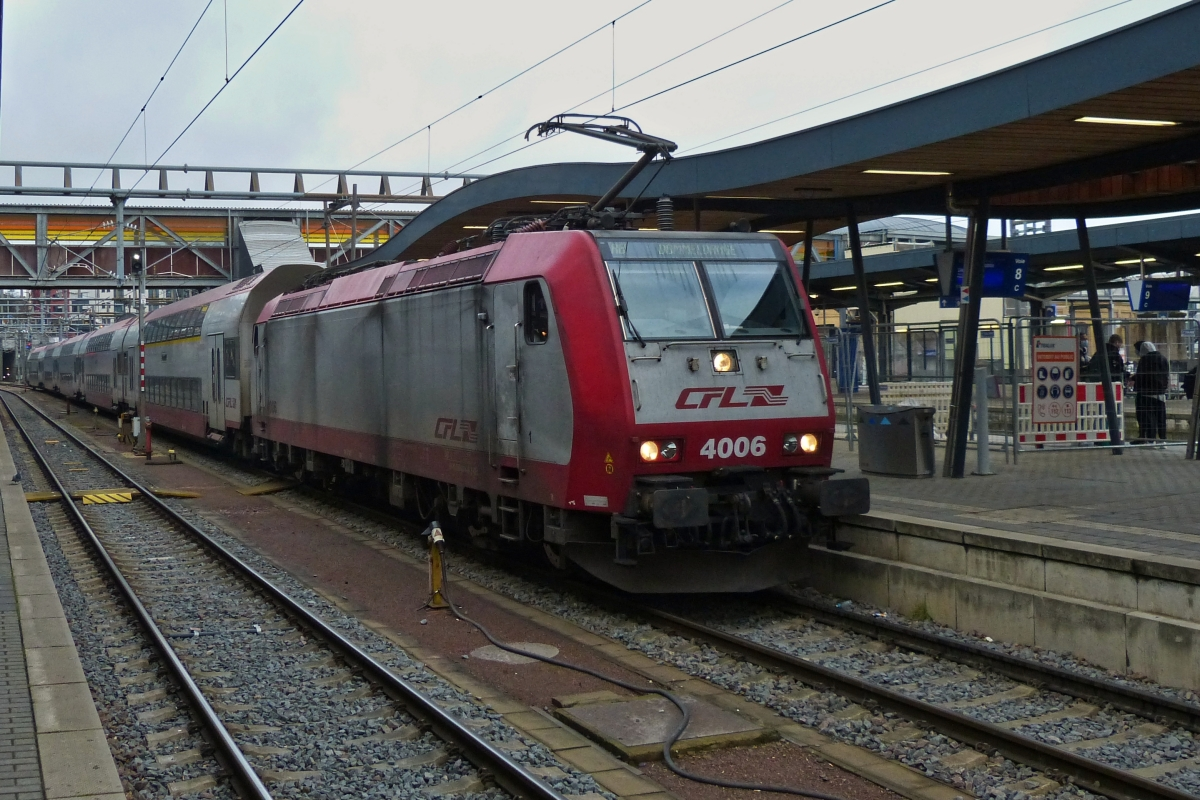 CFL 4006 taken in Luxemburg City main station on December 2nd, 2020.