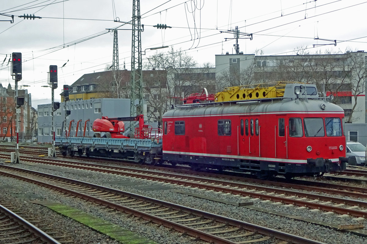 DB 701 099 was sidelined at Düsseldorf Hbf on 20 February 2020.