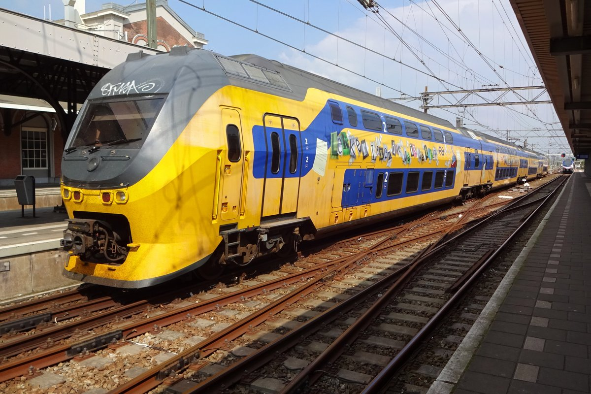 NS 9514 encourages us to read books in Dordrecht on 18 May 2019.